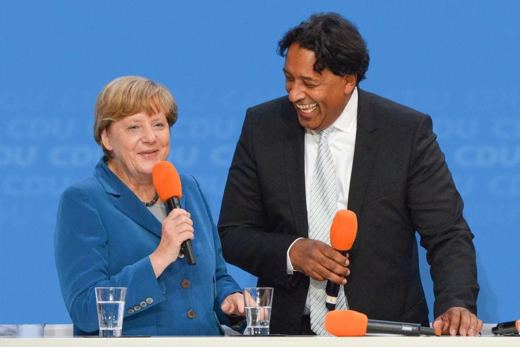Angela Merkel & Cherno Jobatey