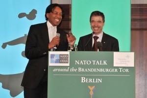 Anders Fogh Rasmussen & Cherno Jobatey
