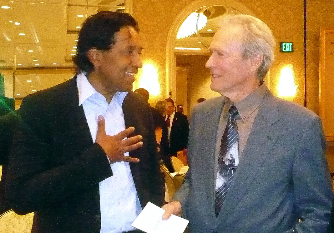 Clint Eastwood & Cherno Jobatey Hollywood
