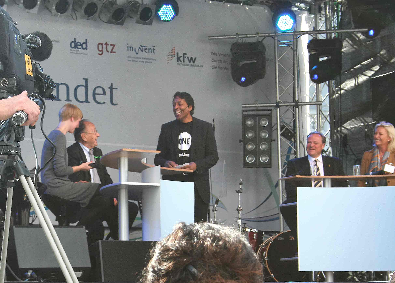 Marie Lessing, Hans-Dietrich Genscher, Cherno Jobatey, Dirk Niebel, Sabine Christiansen