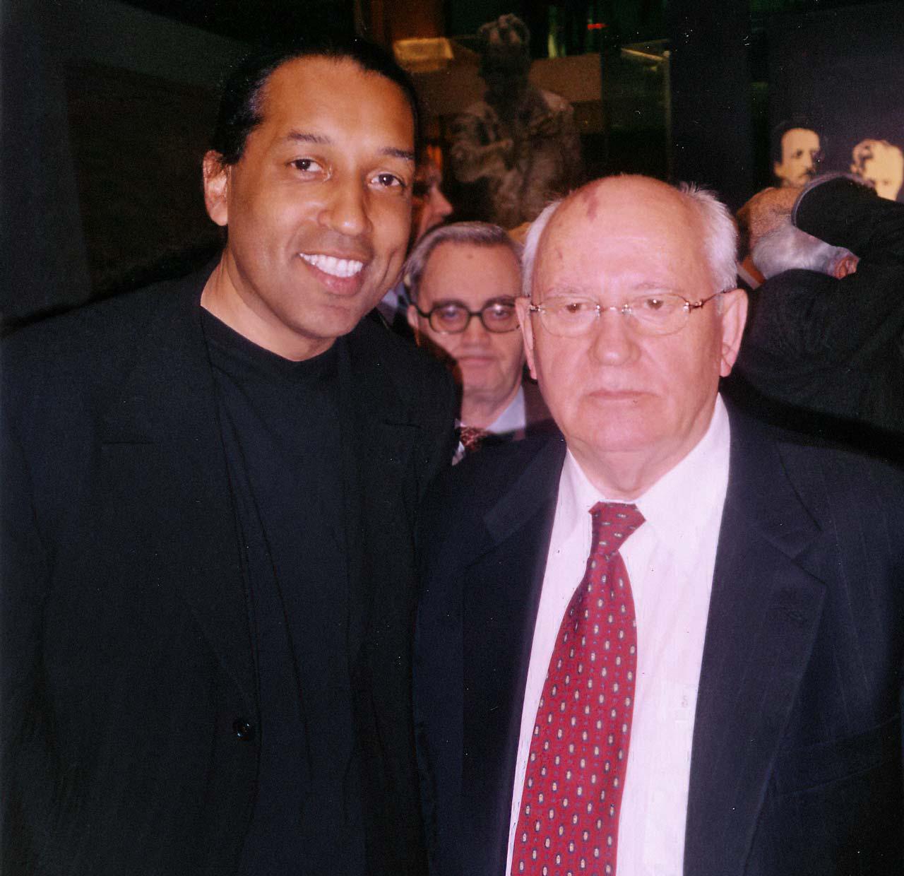 Michail Gorbatschow & Cherno Jobatey
