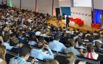 Cherno Jobatey speaking at DLD Conference