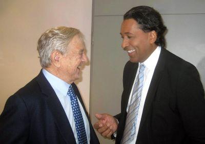 George Soros & Cherno Jobatey