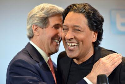 John Kerry & Cherno Jobatey Facebook Town Hall Meeting Berlin