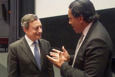 Mario Draghi & Cherno Jobatey